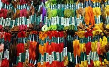 DMC RAYON Embroidery Floss - No Longer in Production 30211 - 33820