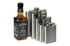 Stainless Steel Hip Liquor Whiskey Alcohol Flask Cap 4  6 8 10 oz + Funnel N74