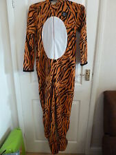 Men's STRIPED TONY TIGER Onesie, All in one, sleepsuit, pyjamas, babygrow