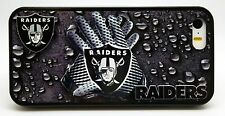NEW OAKLAND RAIDERS NFL PHONE CASE FOR iPHONE 6 6 PLUS 5 5S 5C 4 4S  RUBBER SKIN