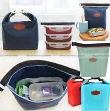 Thermal Cooler Insulated Lunch Carry Tote Picnic Storage Bag Pouch
