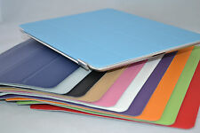 Slim Magnetic Leather Smart Case For Apple iPad With Hard or Silicone Back Cover