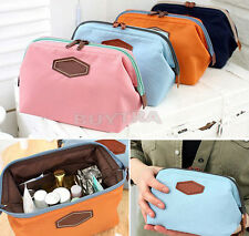 Real Ritzy New Travel Cosmetic Bag Makeup Case Pouch Toiletry Zip Organizer JBUS