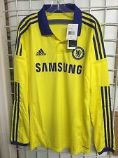 New Adidas Chelsea Long Sleeve Away Jersey 2014-2015 M37746 Size XS, M, L