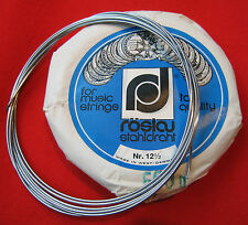"""Piano Wire-Roslau-Full 12m length(39ft 5"""")Crafts-Metalworking-Industrial-springs"""