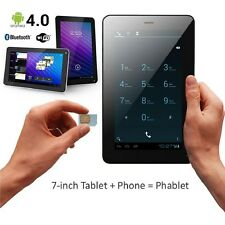 7 INCH PHABLET with FLASH Camera Android Tablet PC Smart Phone GSM Unlocked