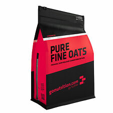 100% Natural Finely Ground Oats by GoNutrition - 1kg, 2.5kg, 5kg + Free Shaker