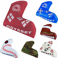 ODYSSEY PUTTER COVER ** NEW 2015 RANGE ** ODYSSEY BLADE PUTTER HEADCOVER GOLF