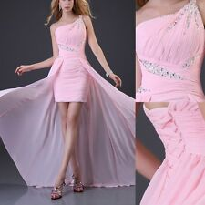 NEW YEAR SALE Formal evening gowns high-lo dress prom party Bridesmaid dresses