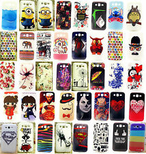 For Samsung Galaxy Grand Neo DUOS i9082 TPU Angel Owl Minions Flower Cover Case