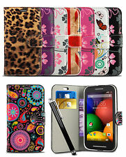 Wallet Case For Samsung Galaxy Trend Plus S7580 Mobile Phone Flip Cover & Stylus