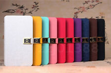 ZriE PU Leather Flip Stand Wallet Card Case cover for Samsung Galaxy S2 i9100