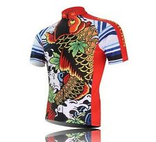 New Cycling Jersey Bike Bicycle Clothing Short Sleeve Jersey Top Quick Dry S-3XL