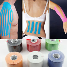 5m x 5cm Kinesiology Sports Muscles Care Elastic Physio 1 Roll Therapeutic Tape