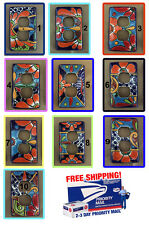 Talavera Outlet Plug Double Light Switch Toggle Plate Cover Amigos Pottery art