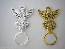 MAGNETIC orTAC PIN Name ID Badge OR  EyeGlass Holder. Reading orSunglasses Angel