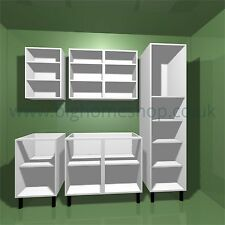Pre assembled kitchen base wall units magnet bakersfield for Wickes kitchen cabinet sizes