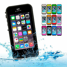 Waterproof Shockproof Dirtproof Heavy Duty Hard Case Cover for Apple iPhone 5S 5