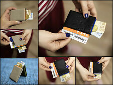 NERO Leather Wallet Card Holder Slim Compact Minimalist Wallet & RFID Wallet