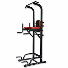 Chin Pull Up Power Tower Station Abs Knee Crunch Leg Sit Ups Tower Workout Multi