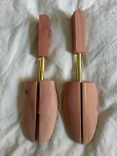 Cedar Shoe Trees 3 PAIRS LOT! Wooden Rochester Sizes Small to 3 Extra Large