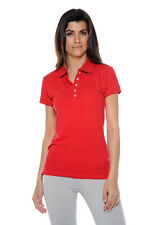 Juniors/Ladies 5-Button Polo Shirts - Assorted Colors