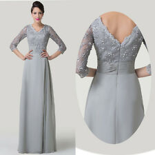 Vintage Rockabilly Mother Of Bride Wedding Long Prom Dresses Evening Party Gowns