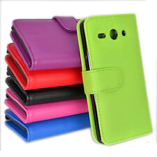 Side ID Wallet Leather Case Cover for Huawei Ascend Y530 530 + Screen Guard