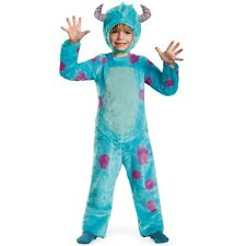 Monsters University Deluxe SULLEY Toddler Costume HALLOWEEN Adorable Licensed