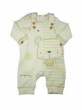 Baby Boy Girl Unisex Clothing Outfit Dungaree and Bodysuit Set Off Bear New