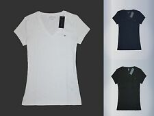 Tommy Hilfiger Women V-neck short sleeve T-shirt all size new with tags