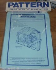 BIRD HOUSE WOODWORKING PLANS ~ Bird Barn ~ Feeder ~ Nesting Box  ~ by PLD