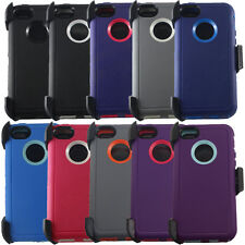 Heavy Duty Dirt/Shockproof rugged hard Case Cover w/Belt Clip for iphone 5c/5/5s