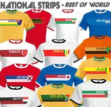 World ROW Retro Strip Mens T-Shirt Football Cricket Rugby World Cup,Patriotism