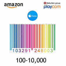 Amazon Barcodes UPC EAN Certified 13 Bar Code Numbers For Listing 100-10000