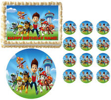 Paw Patrol Characters Edible Cake Topper Image-Many sizes including Half Sheet!
