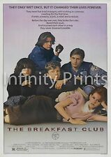 The Breakfast Club Movie Film Poster A2 A3 A4