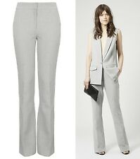 Topshop NEW in Smart Premium Tailored Trousers RRP £50 Size 4,6,8,10,12