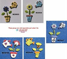 WATERING CAN & FLOWER POT - HANDMADE, CERAMIC MOSAIC TILES ( Pick you Group ) #2