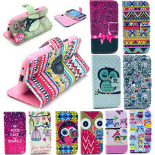 Magnetic Wallet Card PU Leather Stand Case Cover For Samsung Apple LG Nokia HTC
