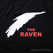 The Raven STAFF Custom Printed Forever Knight T-Shirt vampire club blood Black +