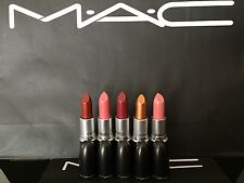 X1 MAC LIPSTICK CREME CUP PEACH BLOSSOM BRONZE SHIMMER PARTY LINE FRESH MOROCCAN