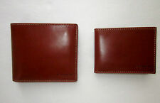 NEW Coach Men's Buffalo Bifold Leather Wallet Compact ID Wallet  F 74764