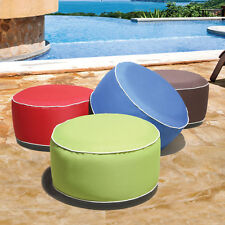Indoor/Outdoor Inflatable Pouf Ottoman