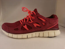 New Nike Free Run 2 Red White 537732 606 Trainer Flex