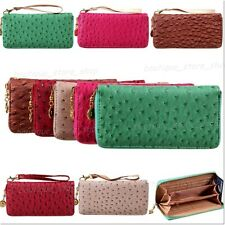 New Long Clutch Fashion Lady Womens Zipper Coin Purses Credit Card Cases Wallets