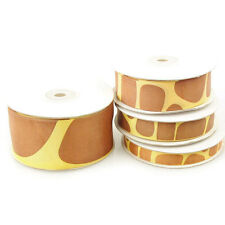 Grosgrain Animal Print Ribbon, 25-yard