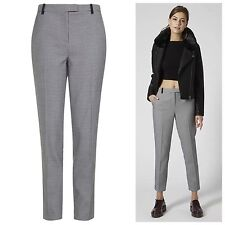Topshop NEW in Dogtooth Cigarette Trousers RRP £42 Size 6 to 12