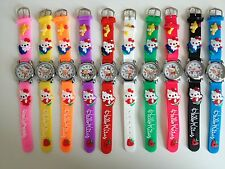 HELLO KITTY SILICONE KIDS 3D CHILDRENS QUARTZ WRIST WATCH *SEE SPECIAL OFFER*