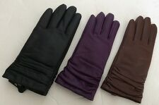 Women's Leather Gloves By Member's Mark. Size S